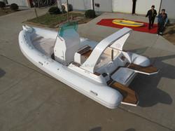china fiberglass boat rib 680