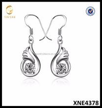 Promotional Silver Earrings Pure Siver Angel Earrings For Women