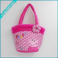 Lovely Soft Plush Pink Pig bags wholesale handbags
