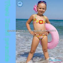 Domi prenda bikini fotos sexy con girasoles estilo niños trajes de baño