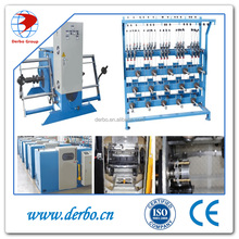 P Automatic Double Twist Wire Bunching Cable Making Equipment