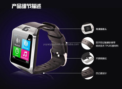 Smart Phone Watch GV08 Multilanguage Android Mobile Phone Mobile Parter 1.54 inch Touch Screen Bluetooth Smart Watch Phone