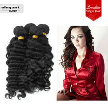 7A Unprocessed Unique Products to Buy Deep Wave Brazilian Hair Extension in Dubai