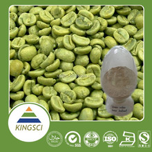 cGMP Factory Supply 100% pure natural of the lowest price for weight loss green coffee bean extract /Chlorogenic Acid