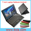 Made In China OEM Very Cheap Laptops with 7 inch Android OS