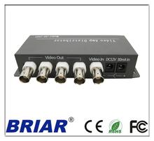 Best selling 4 ways video distribution/booster amplifier/splitter easy install