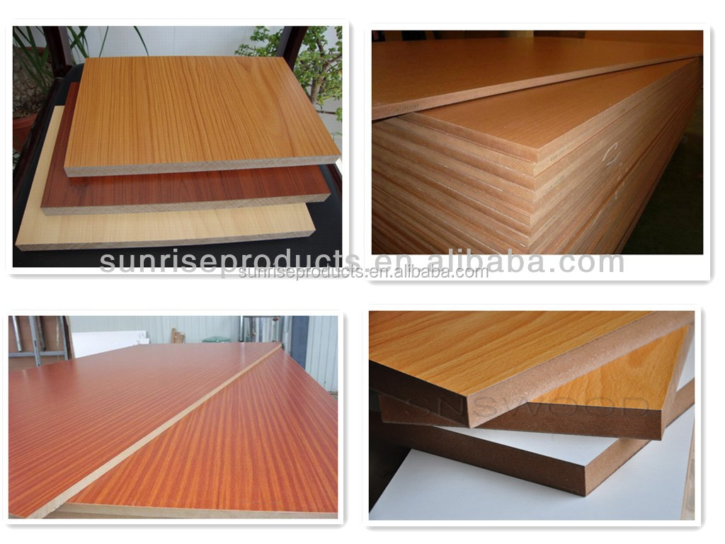 Mm standard size mdf board cheap price from sunrise
