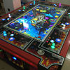 Plastic coin operated roulette game machine fishing game machine with high quality