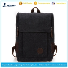 Britpop canvas fashion day backpack leisure school backpack bag for students