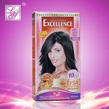 minuts 10 withe cubierta de pelo oscuro color de pelo tinte