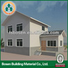 luxurious prefab light steel structure villa design