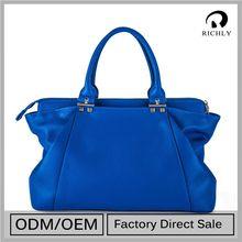 Stylish Design Customized Price Cutting Patent Tote Handbags