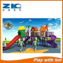 Popular New Plastic Kindergarten Outdoor Play Equipment