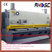 QC11Y Hydraulic Guillotine Shearing Machine, Metal Sheet Cutting Machine, Steel Cutting Machine
