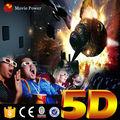 Crianças parque jogo da máquina de 2 assentos cinema 9d simulador de realidade virtual