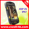 MTK6572w dual core 4.0 inch IP67 waterproof android 4.2 Rugged phone