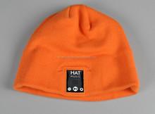 Warm Wireless Bluetooth beanie Hat Earphones with headphone,support Mic