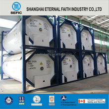 LOX/LIN/LAR/LCO2 / LNG/LC2H4 T75 Tank Container