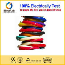 Color condom of rubber material, natural rubber material color condom, cheap color condoms wholesale