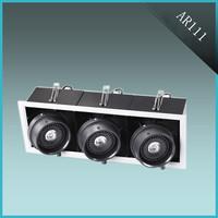 Durable aluminum AR111 led grille light 54W lighting for barber shop