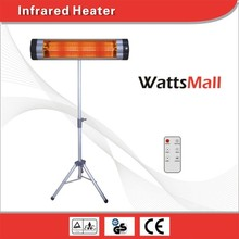 Bathroom/Bedroom/Living Room/Office Electric Heater,Electric Infrared Heater with Remote Control
