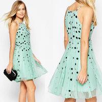 Juhai 3436 new products to sell 2015 wholesale sexy clothing manufacturers plus size silk chiffon dress patterns