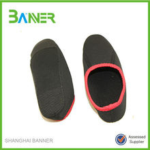 Healthy home wear warm soft material neoprene baby socks like shoe