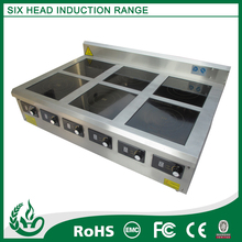 Induction electric cooking plate with table top design