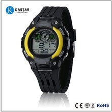 Multi-function sports digital watch multiple time zone