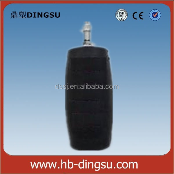 High pressure inflatable rubber pipe plug expandable