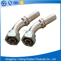 With SGS certification npt thread hydraulic hose fitting and metal joint