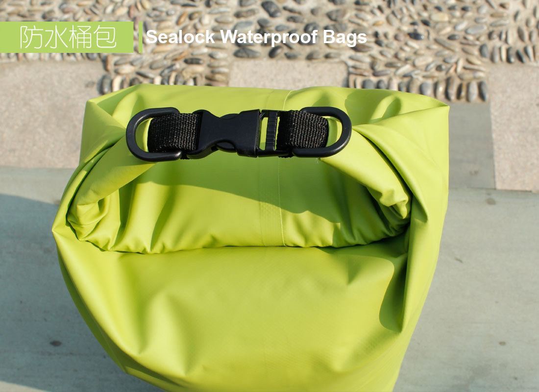 250D PVC Waterproof dry bag for swimming/climing/drifting/beach