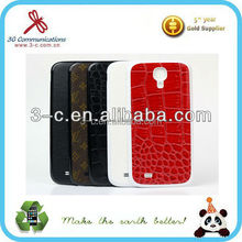 mobile phone accessory protect flip leather case for samsung s4