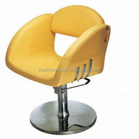 WT-6802 yellow styling chair hair dressing salon furniture sofas chairs