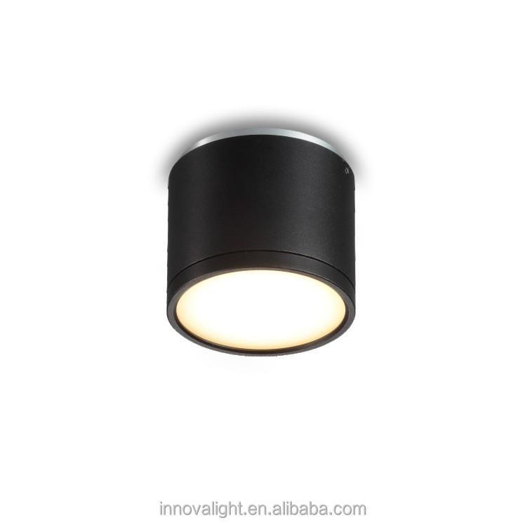 innovalight 13w schwarze zylinder gef hrt aufbau downlight. Black Bedroom Furniture Sets. Home Design Ideas