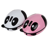 Rechargeable Cartoon Panda Wireless Mouse & 2.4G Mini Mouse with USB for PC / Laptop Notebook Desktop