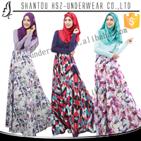 MD 025 High quality muslim women long sleeve maxi farasha kaftan Modern style muslim women praying farasha Muslim robe de mariee