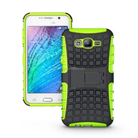 Phone Case TPU&PC Kickstand Case Hybrid Impact Armor Back Cover For Samsung Galaxy J7