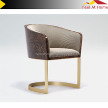 Good quality restaurant chairs come with stainless steel frame