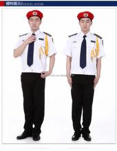 Fashion western style bellboy uniform for hotel doorman