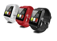 Trade assurance Multi-function bluetooth phone u8 smart watch campatible with IOS, Andriod cellphone