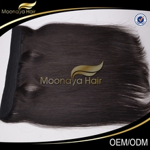 New large stock angel hair products kenya wholesale black hair products flip in hair extension