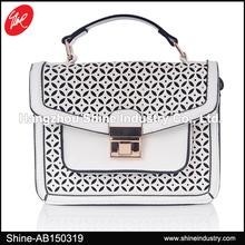 2015 new lady handbag fashion punching women handbag lady bags manufacturer