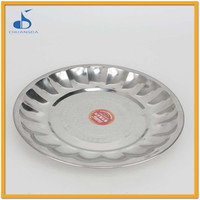 Europe Hotel Serving Stainless Steel Mess Tray