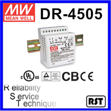 DR-4505 Single Output Taiwan Mean Well 45W 5V Industrial DIN Rail Power Supply