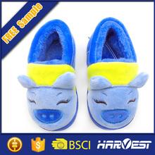 wholesale lastest design animal head slipper for children