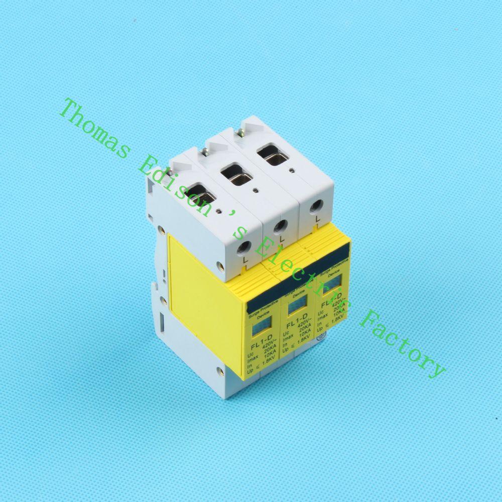 Dmwd Spd 3p 10ka20ka D 420vac Household Surge Protector Protective Spm Circuit Breaker 25amp 6ka Rating 3 Pole 25 Amp Getsubject Aeproduct