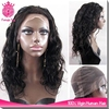 Qingdao factory naturally short curly hair styles glue full lace wigs for women