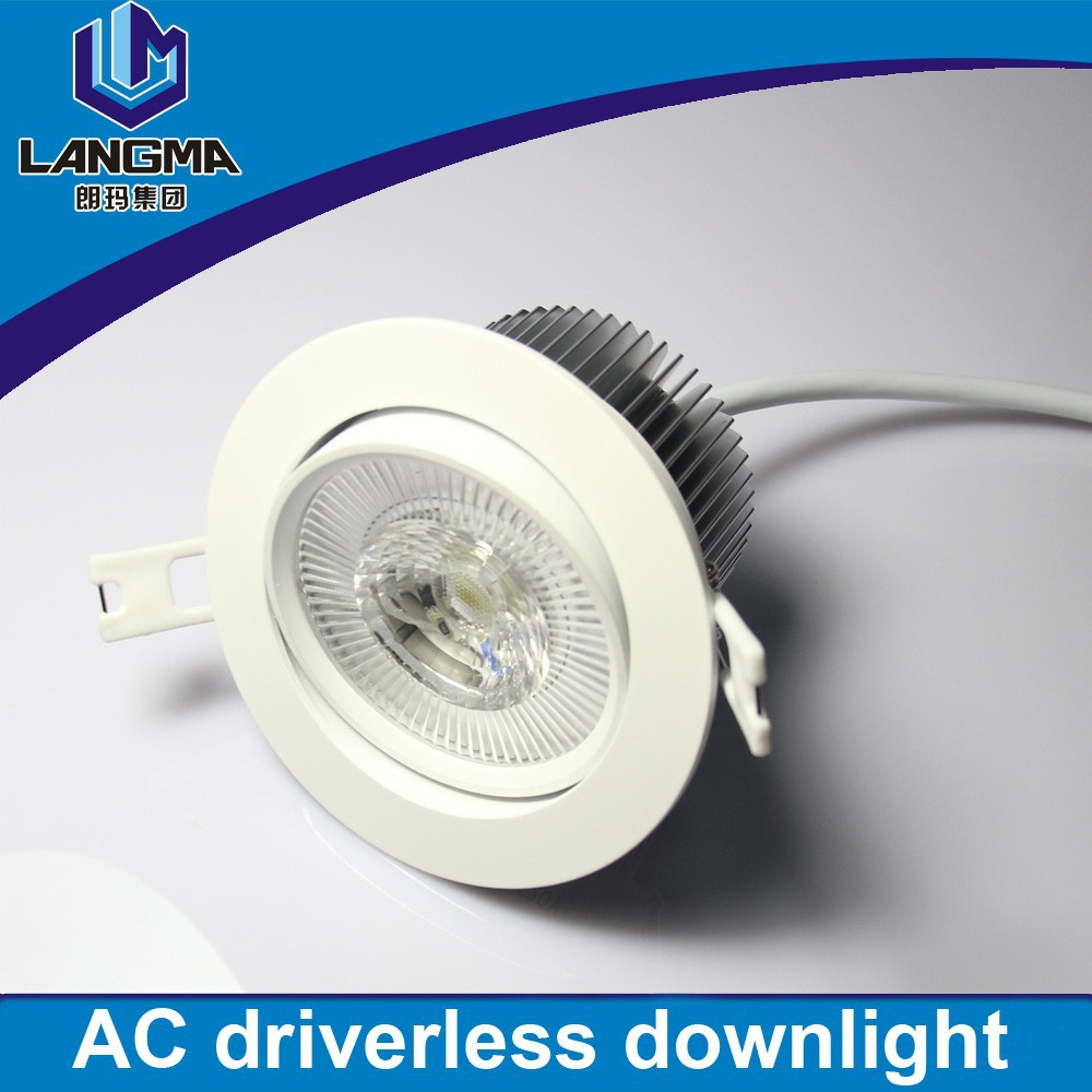 10w Led Downlight Kit Recessed Ceiling Light Lamp Bulb Ac85 265v Warm Cool W