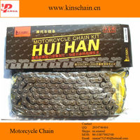 Venezuela Reinforced natural color 428H 120L motorcycle wheel chain
